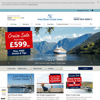 Fred. Olsen Cruise Holidays - Fred. Olsen Official Site