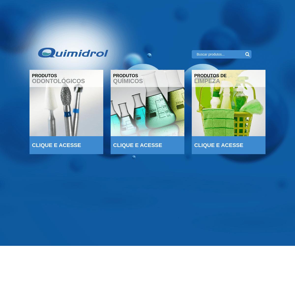 Quimidrol - Comércio, Indústria, Importação