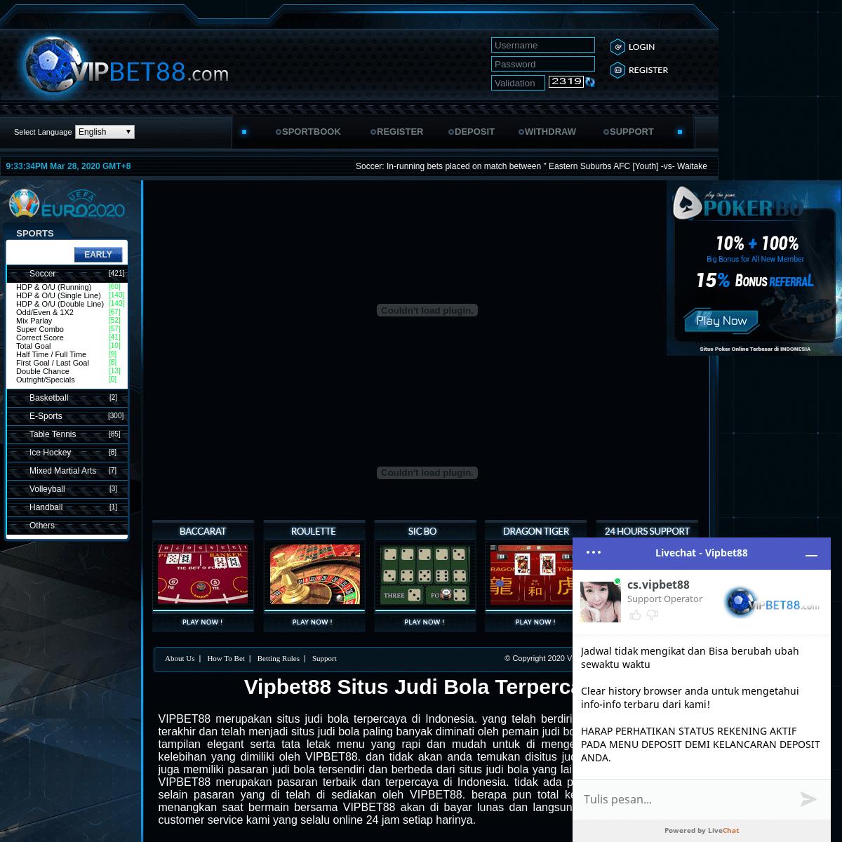 Situs Judi Bola Terpercaya Taruhan Bola Terbaik Judi Online Terbesar
