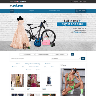 ZotZon – Sell in one #, buy in one click