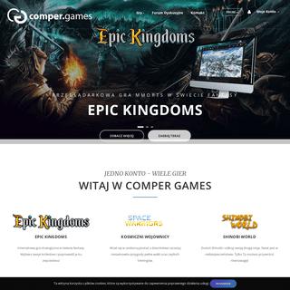 comper.games - platforma gier internetowych
