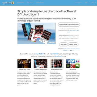 Photo Booth Software for Windows and Mac - sparkbooth