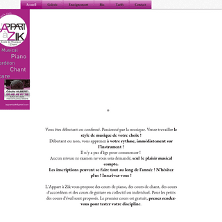 ArchiveBay.com - lappartazik.com - Accueil - lappartazik