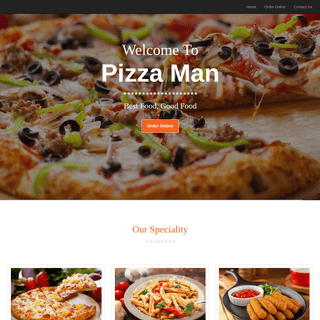 Pizza Man - Order Online - Burbank, CA 91502 - Pizza Pickup Delivery
