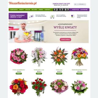 Poczta, kwiatowa przesyłka, kwiaciarnia internetowa Waszakwiaciarnia.pl