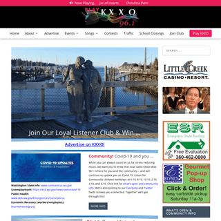 ArchiveBay.com - kxxo.com - KXXO Mixx96.1 Radio - Serving South Puget Sound