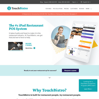TouchBistro- iPad Restaurant POS System