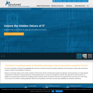 Structured - IT solutions and systems integration services