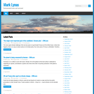 Mark Lynas – Environmental news and comment