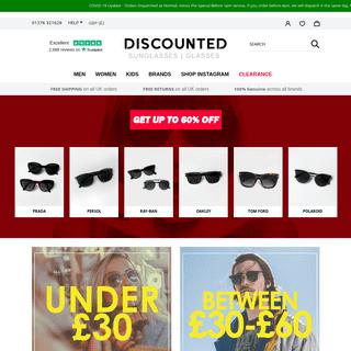 Buy Cheap Designer Sunglasses Online - Discounted Sunglasses