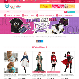 Cosplay Costumes & Halloween Costumes,Costume Ideas For Adults,Teens & Kids-Miccostumes.com