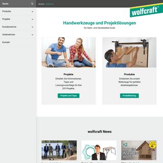 Handwerkzeuge und Projektlösungen-wolfcraft GmbH