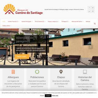 ArchiveBay.com - alberguescaminosantiago.com - Albergues del Camino de Santiago - Guía del Camino de Santiago con albergues, etapas, consejos, información y noticias