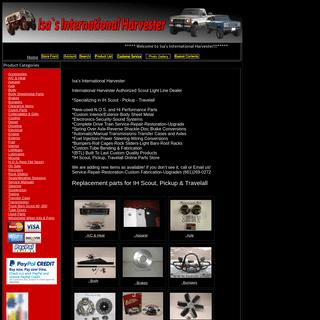ArchiveBay.com - shopisasih.com - Isa's International Harvester