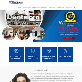 Dentalpro - A Centre Of Excellence In Restorative & Aesthetic Dentistry
