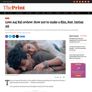 Love Aaj Kal review- How not to make a film, feat. Imtiaz Ali