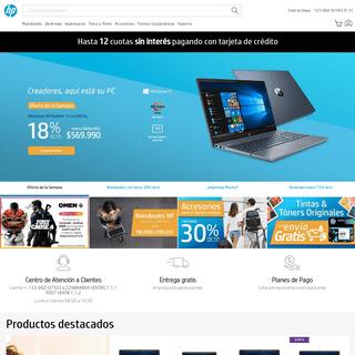 Tienda Oficial HP Chile - Notebooks, Desktops, Impresoras, Monitores, Tinta, Tóner y Accesorios - Tienda HP Chile