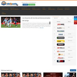Todo Apuestas, la red de apuestas deportivas - Todo Apuestas