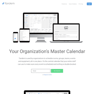 Scheduling Software by Tandem
