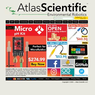 Home - Atlas Scientific
