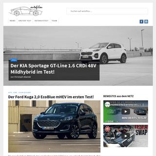 autofilou - Auto und Motorrad Testberichte - Erfahrungsberichte