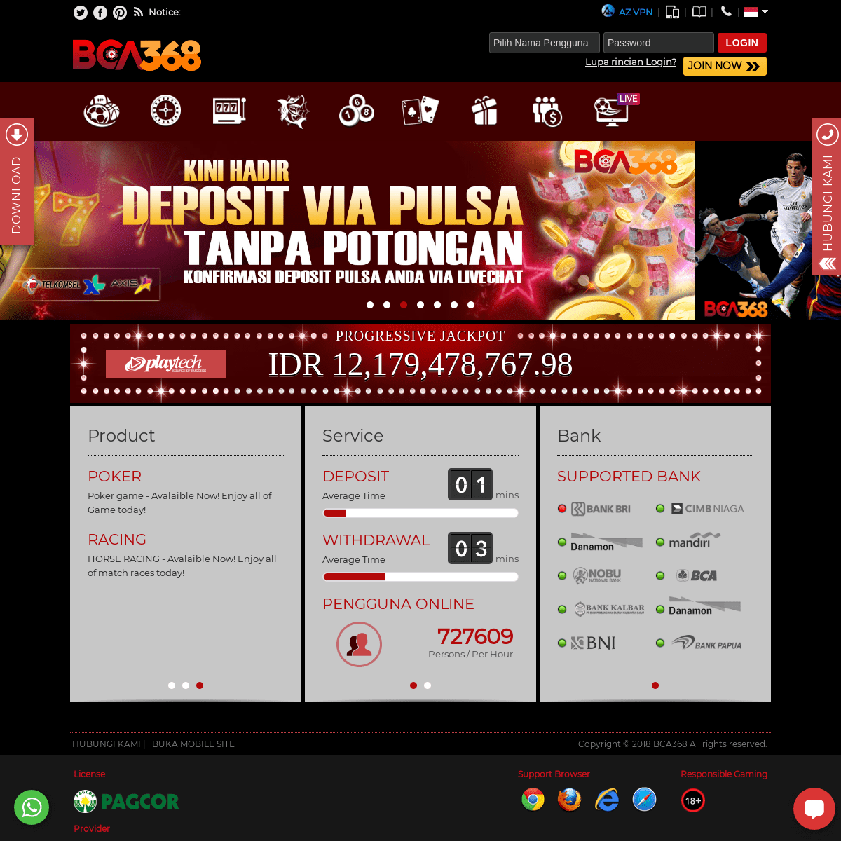Bca368 Situs Judi Online Agen Judi Bola Sbobet Judi Slot Online