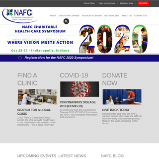 Welcome to National Association of Free and Charitable Clinics - National Association of Free and Charitable Clinics