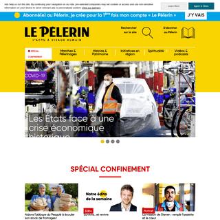 1er hebdo chrétien d'actualité - Le Pèlerin Magazine
