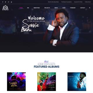 Sonnie Badu - Official Website – Renowned Award Winning International Gospel Minister