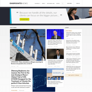 Endpoints News – The biopharma world is here