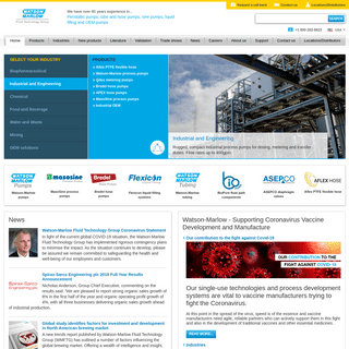 Welcome to Watson Marlow Fluid Technology Group - WMFTG USA