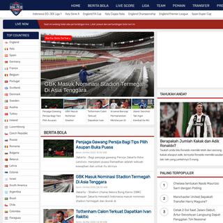 Goal Indonesia - Berita Bola dan Free Livescore