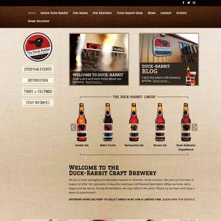 Home - Duck Rabbit Brewery