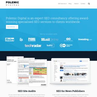 Expert SEO Consultancy - Polemic Digital