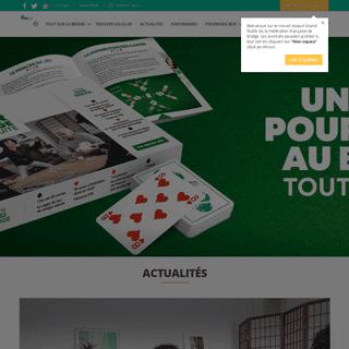 Fédération Française de Bridge - Apprendre à jouer au bridge- Jeu de cartes-