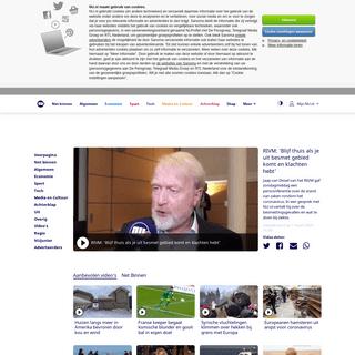 RIVM- 'Blijf thuis als je uit besmet gebied komt en klachten hebt' - NU - Het laatste nieuws het eerst op NU.nl