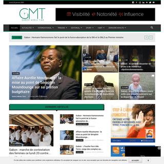 Gabon Media Time - A l'heure de l'information du Gabon