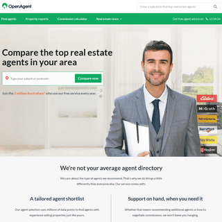 Find and Compare Real Estate Agents - OpenAgent