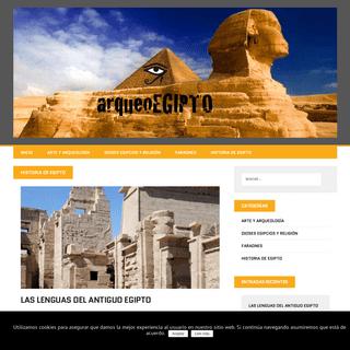 Egiptologia - Antiguo Egipto - Civilizacion egipcia - Egipto