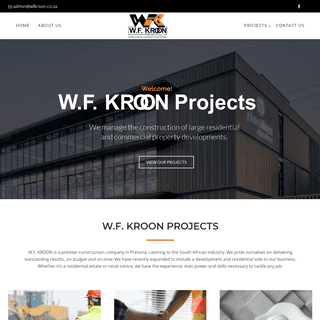 ArchiveBay.com - wfkroon.co.za - W.F. KROON - Construction Company - Project Management