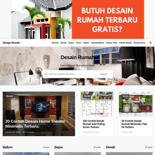 Design Rumah - Kumpulan Contoh Dan Tips Desain Rumah Terbaru