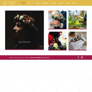 Adeline Thuriès - Créatrice florale et fleuriste à Rodez dans l'Aveyron (12)