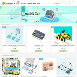 Elecfreaks- Open-source electronic prototyping online store