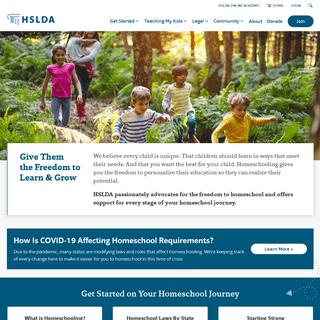 HSLDA - Making homeschooling possible