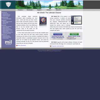 Online privacy software from Mil Incorporated