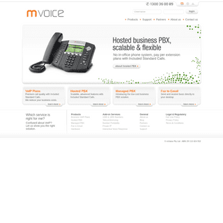 mVoice - Business Grade VOIP provider
