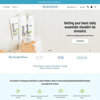 Mother Dirt - Rethink Healthy Skin