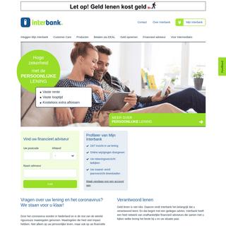 Inloggen Mijn Interbank - Interbank