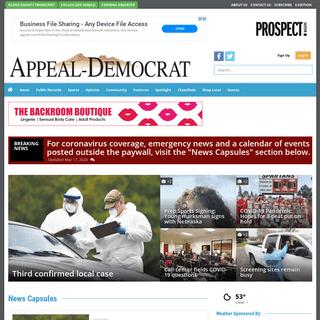 appeal-democrat.com