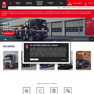 ArchiveBay.com - renault-trucks.fr - Utilitaires et camions neufs et occasions ; services et accessoires poids lourds - Renault Trucks France